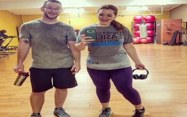 Lexi y Danny Reed contaron honestamente como lograron bajar 181 kilos entre los dos